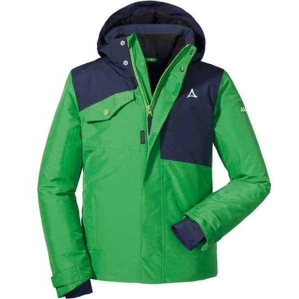 Schöffel Boys Jacket Besancon2 fern green