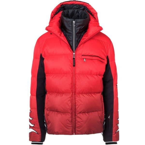 Bogner Men Down Jacket Flames lava red