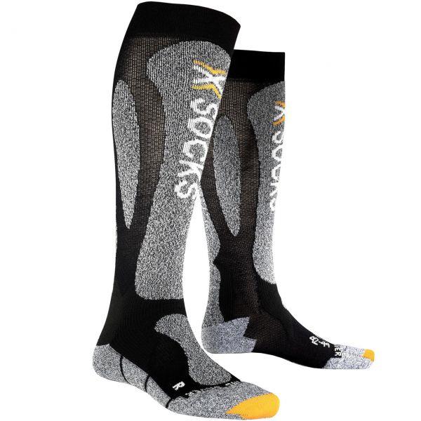 X-Socks Men Ski Carving Silver black/grey