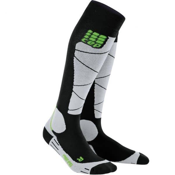 CEP Women Socks Ski Merino black/grey