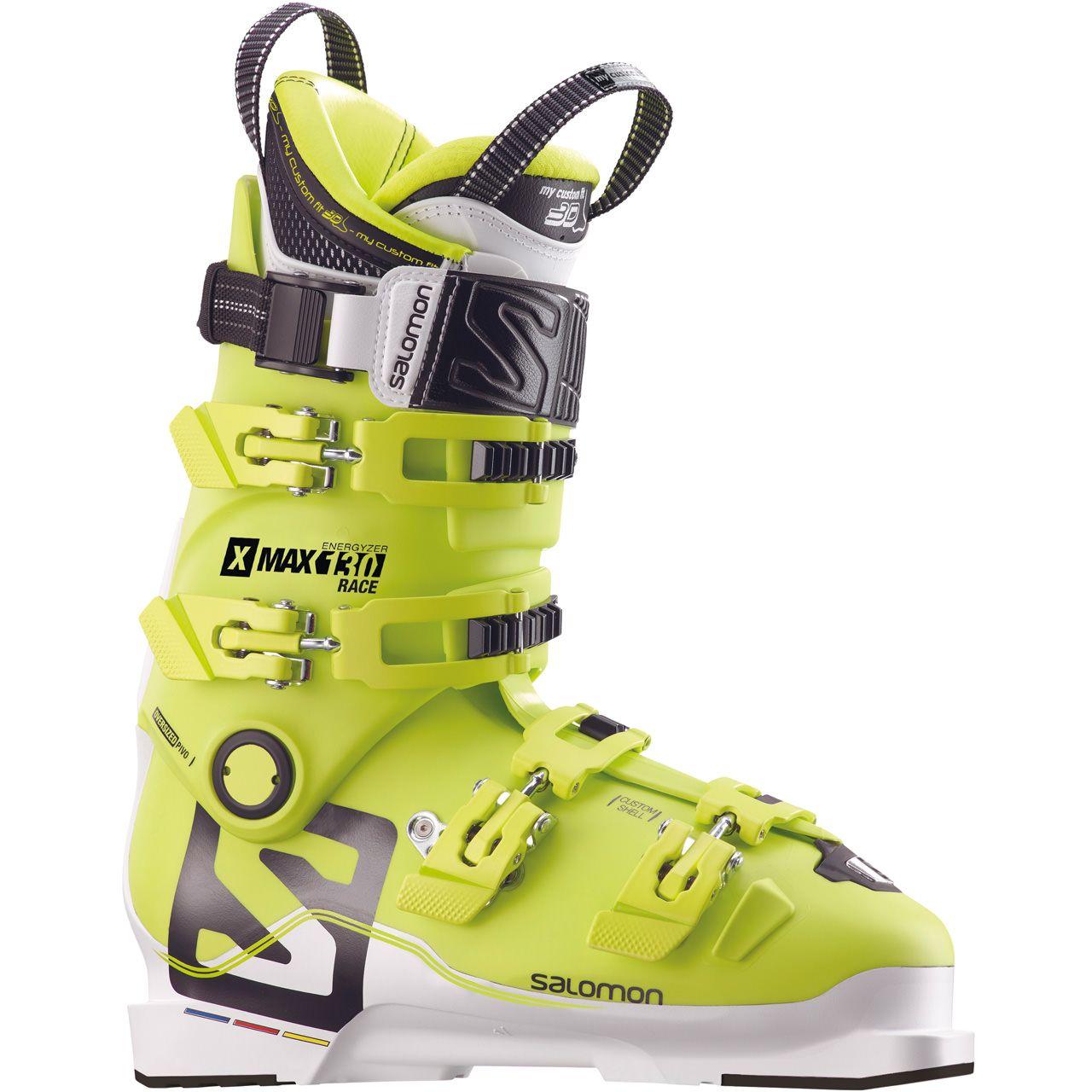 Image of Salomon Herren (Lime 29 5 MP ) / Skischuhe Custom Race (Lime / 29,5) - Skischuhe