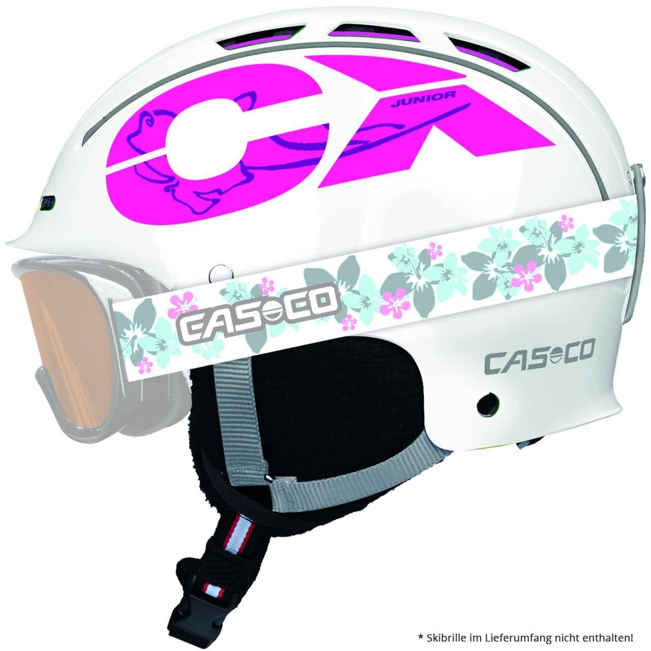 Casco CX-3 Junior weiss-pink (2018/19) - S = 50...