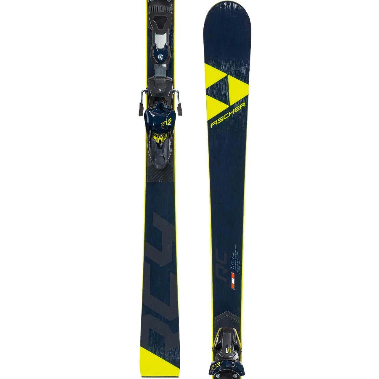 Fischer RC4 Worldcup RC Curve Booster Yellow Base (2019/20) - 185 cm