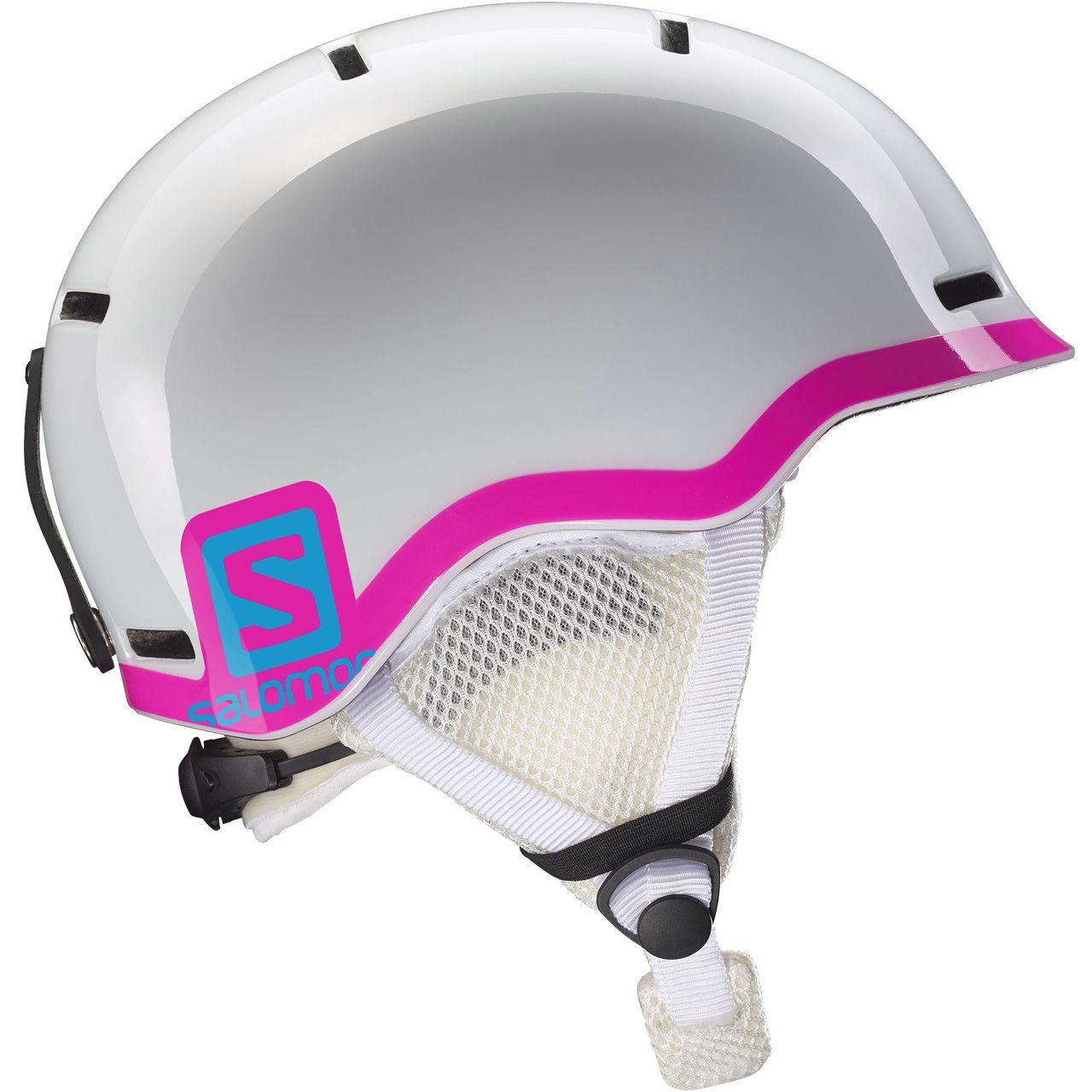 Salomon Grom white glossy / pink (2018/19) - M ...