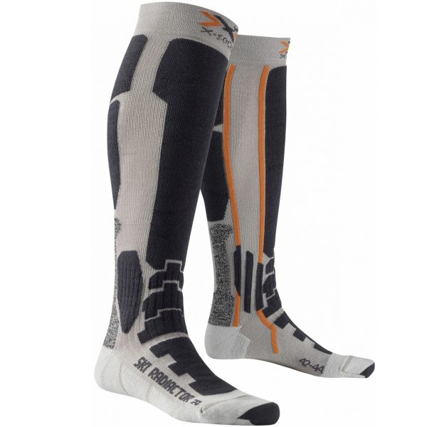 X-Socks Men Ski Radiactor silver/anthracite