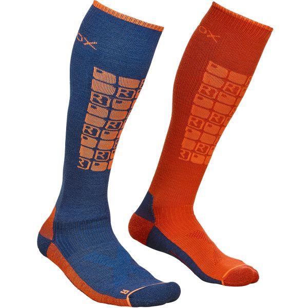 Ortovox Men Ski Compression Socks night blue