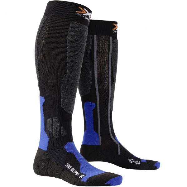 X-Socks Men Ski Alpin black/cobalt blue
