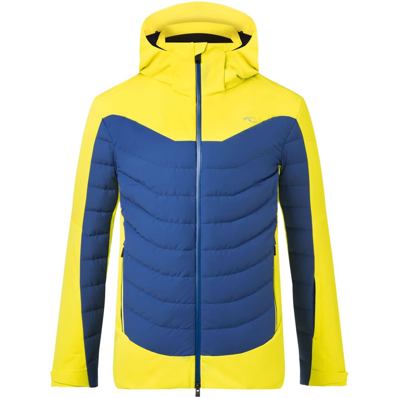 Kjus Men Jacket SIGHT LINE citric yellow/southern blue - 50