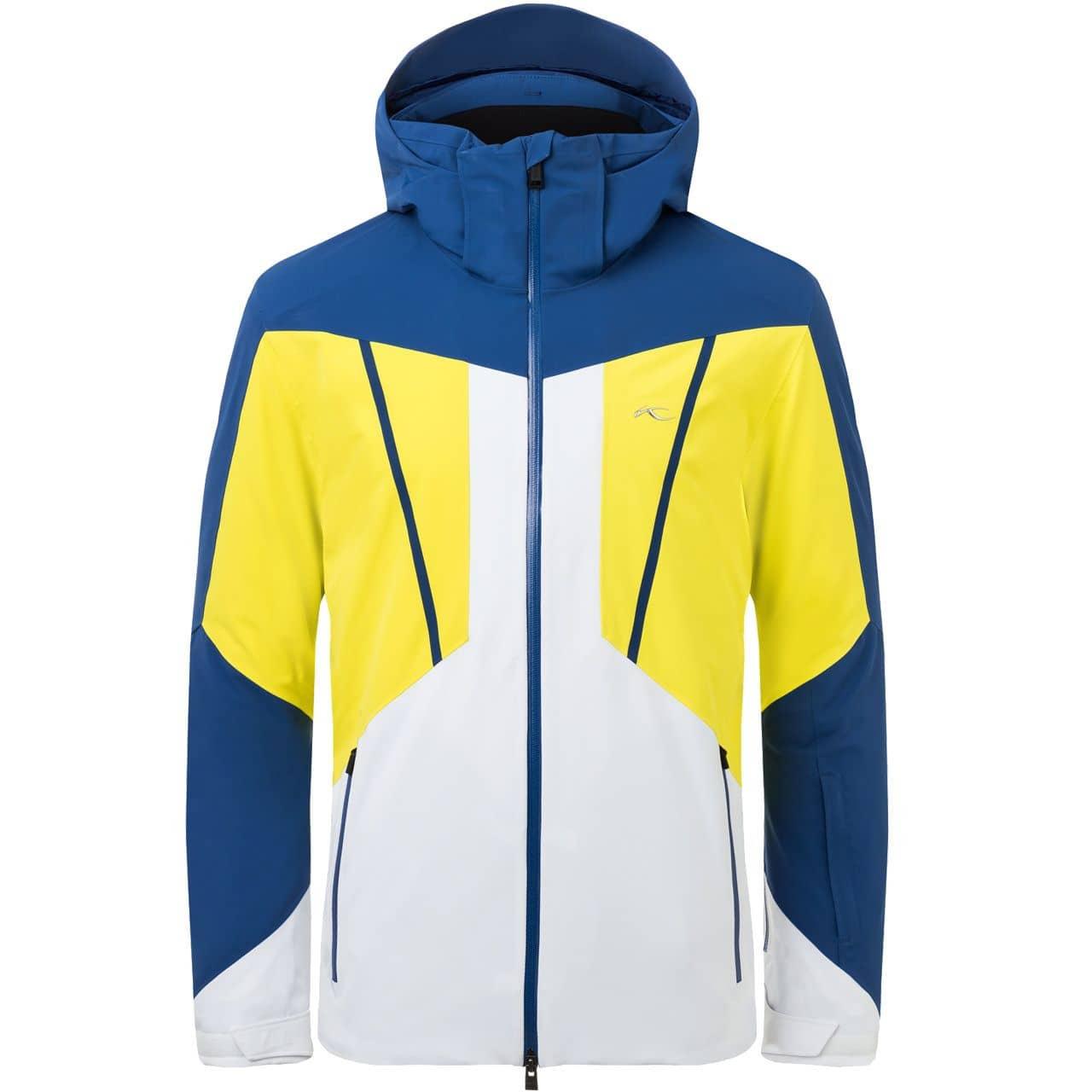 Kjus Men Jacket BOVAL southern blue/citric yellow - 54