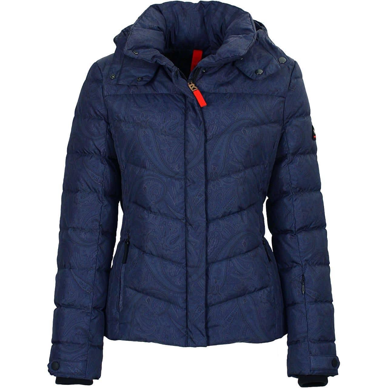 Bogner Fire + Ice Women Down Jacket Sally navy jacquard - 38