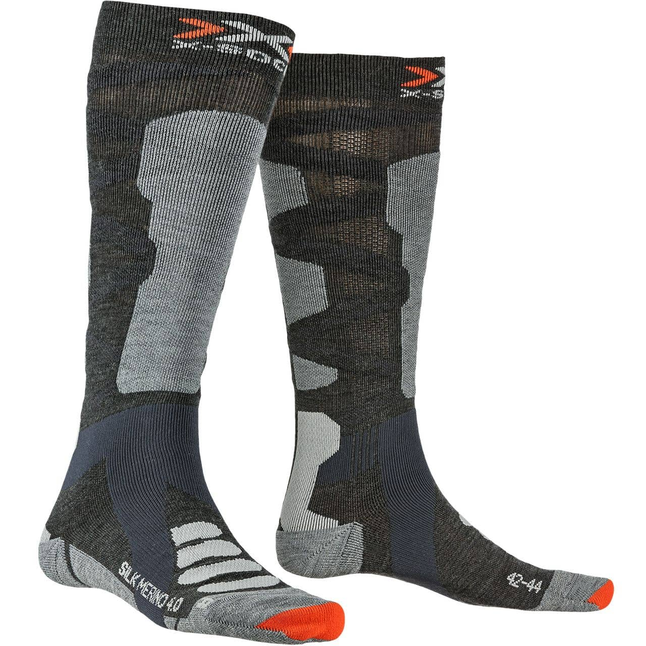 X-Socks Men SILK MERINO anthracite - 42-44