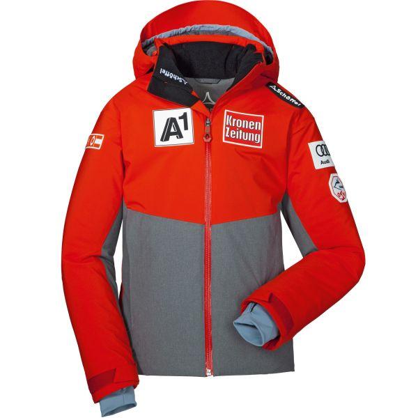 Schöffel Junior Race Team Jacket Arlberg2 chinese red