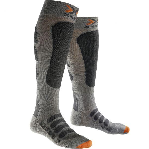 X-Socks Men Ski Silk Merino grey/anthracite