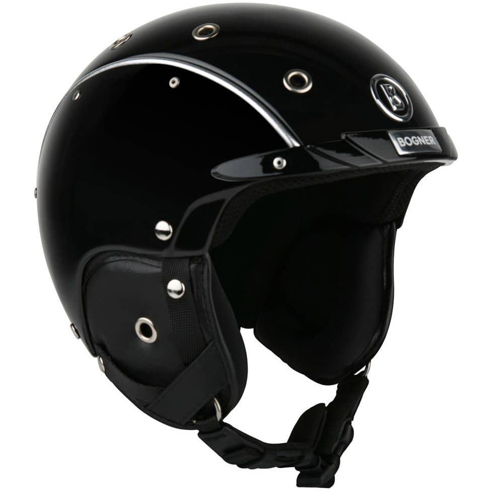 Bogner Helmet Pure black - M = 54 - 58 cm