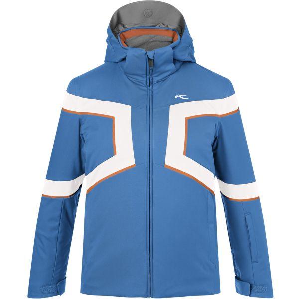Kjus Boys Jacket Speed Reader aquamarine blue