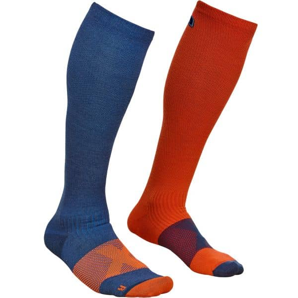 Ortovox Men Tour Compression Socks night blue