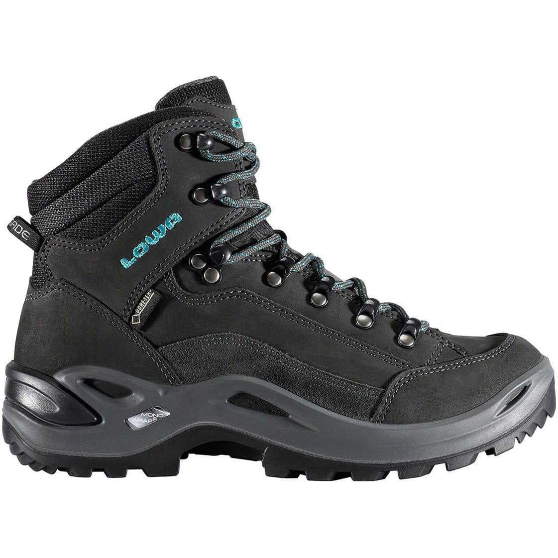 Lowa Renegade GTX Mid Lady anthrazit/türkis - UK 6,5