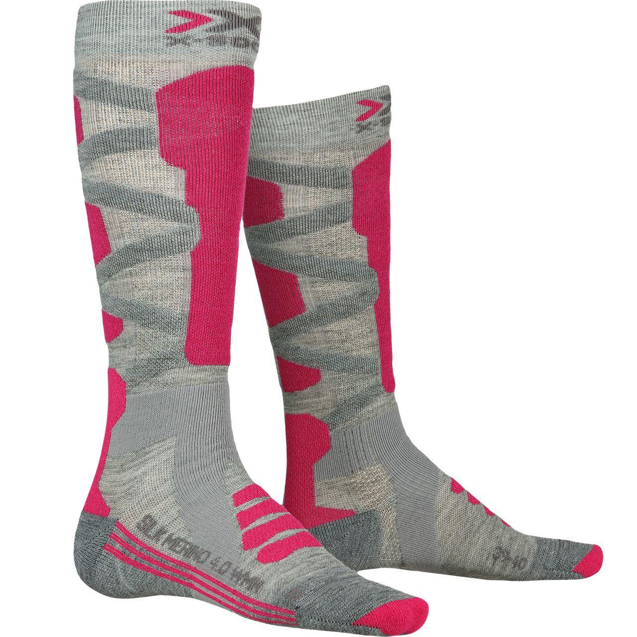X-Socks Women SILK MERINO grey melange - 39-40