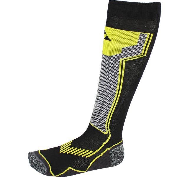 Fischer Men Skisock Alpine Comfort black/yellow