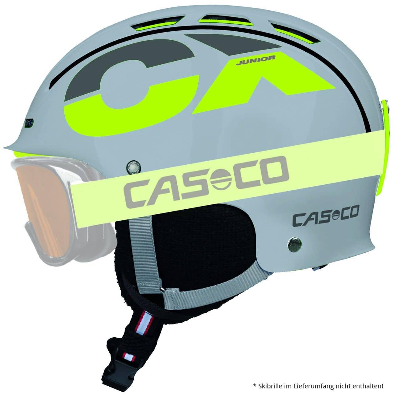Casco CX-3 Junior grau-neon (2018/19) - S = 50 ...