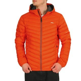 Kjus Men Conversion Down Jacket papya red-grey owl