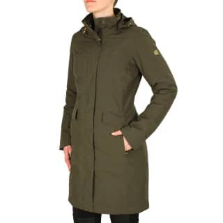 The North Face W Suzanne Triclimate Trench black ink green