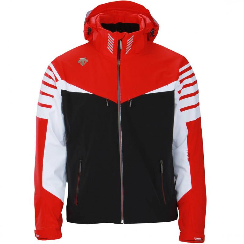 Descente Men Swiss WC Jacket electric red/black